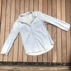 Old Navy | Blue Denim Casual Button Down Shirt